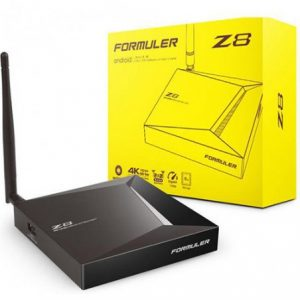 FORMULER Z8 Update 2G/16G DUAL-BAND WIFI 4K IPTV BOX